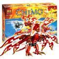 172 шт. Бела 10351 Флинкс Конечной Феникс Игрушки Для Детей сборка игрушки Строительные Наборы Совместимы С Lego