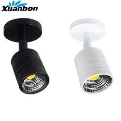 Pode ser escurecido 5 w led superfície montado lâmpadas de parede luz do ponto led downlight showcase jóias contador lâmpada do teto loja roupas iluminação