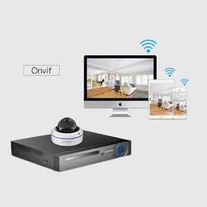 Image 5 - غادينان 5MP 3MP 2MP H.265 IP كاميرا مراقبة مراقبة الأشعة تحت الحمراء ليلة فيديو مخرب واقية في الهواء الطلق CCTV كاميرا بشكل قبة تيار مستمر 12 فولت/48 فولت PoE