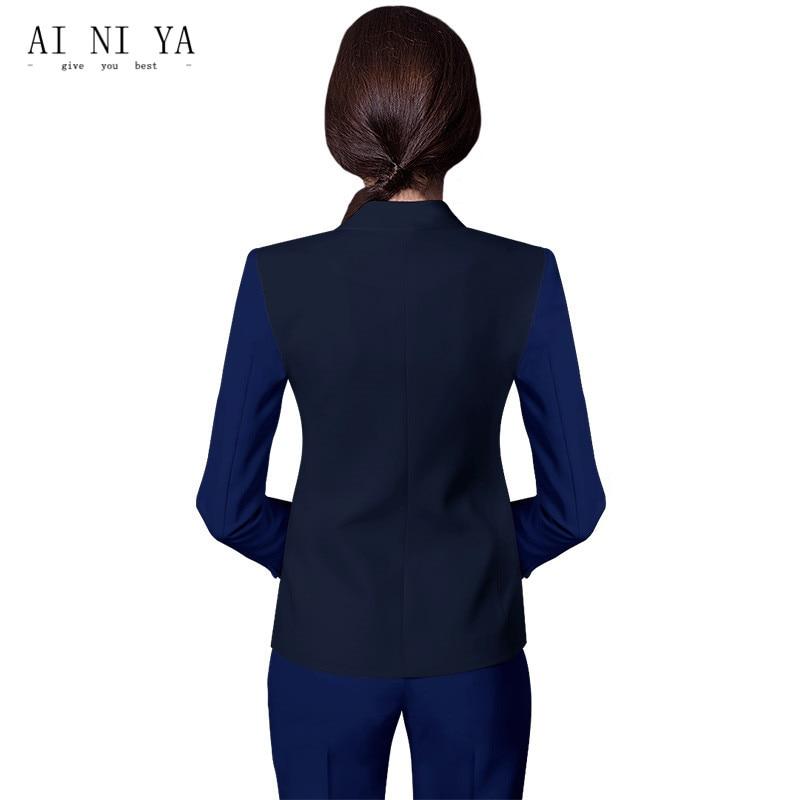 Women Business Suits Formal Office Uniform 2018 Elegant Womens Suits Blazer With Pants Trouser Work Wear for Ladies 2 Piece Suit