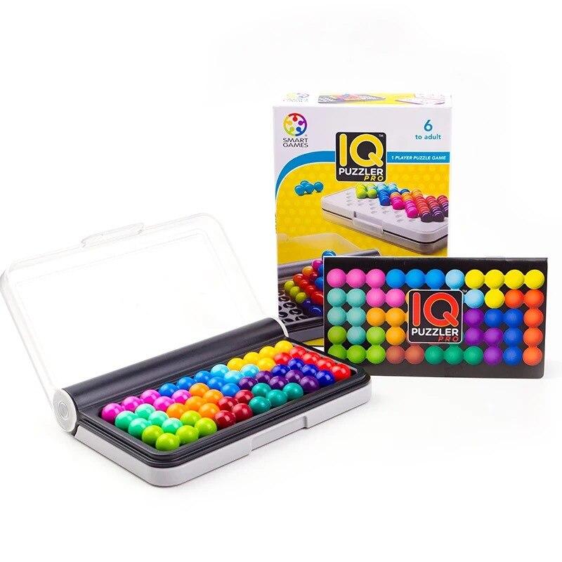 Sagesse grand combat enfants puzzle jeu de société parent-enfant exercice penser logique jouet portable portable extérieur puzzle jeu