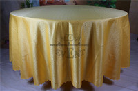 New Design For 2016 Gold Color Clouds Jacquard Tablecloth Table Linen For Wedding Party Home Decorations