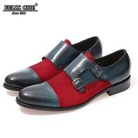 Felix CHU 2019 Для Мужчин's Кепки Toe Оксфорд обувь со шнуровкой из натуральной кожи со шнуровкой и замшевые туфли современные свадебное платье Для