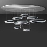 LED Нордик Постмодерн Железные Стеклянные Капли Воды Светодиодные Лампы.Светодиодные Светильники Люстры Подвесные.Светильники Подвесные С