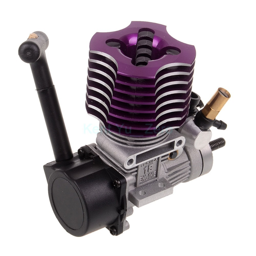 02060 BL VX 18 Engine 2.74cc Pull Starter For HSP RC 1/10 Nitro Car Buggy EG630, For a variety of HSP models