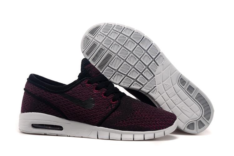 on sale 4b214 6ad5b ... nike sb stefan janoski max nuevo color de la mujer zapatos de deporte Nike  SB Zoom Stefan Janoski Black ...
