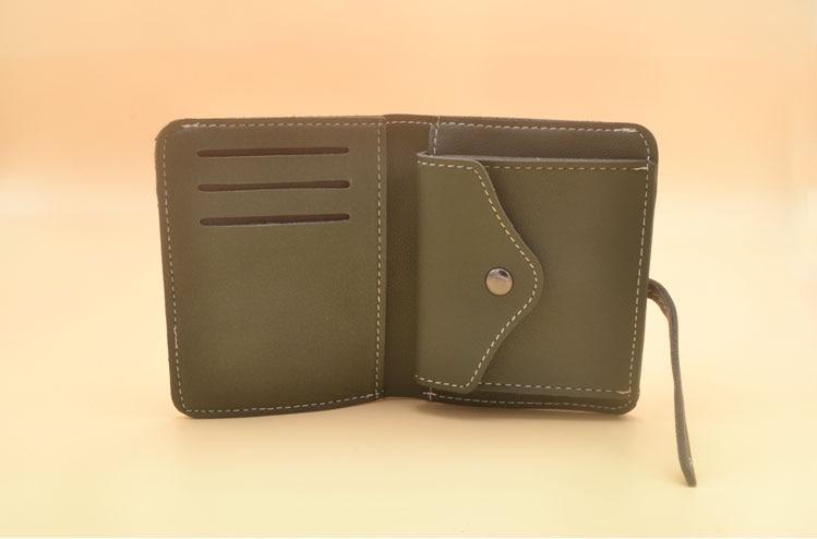 DIY kleine frauen gefaltete brieftasche PVC vorlage nähen muster set ...