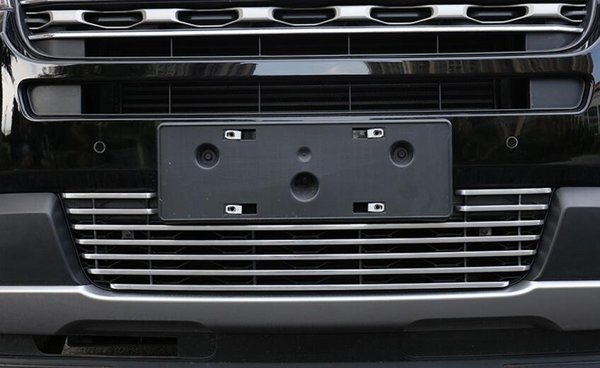 Front Bottom Grille Grill Molding Cover Decoration Accessories For Ford Explorer 2011-2014 1pcs джинсы absolut joy джинсы зауженные