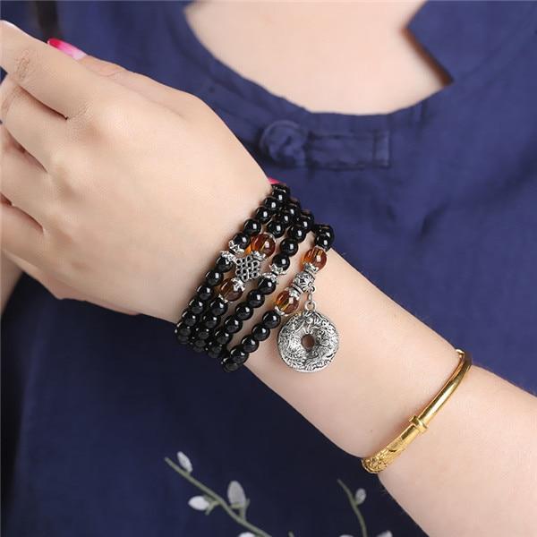 6mm Obsidian Mala Beads 4