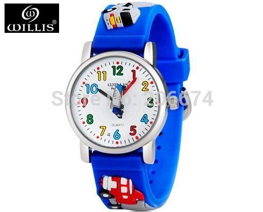 10M waterproof 3D Cartoon Animal Design Analog Wrist Watch Children clock kid Quartz Wrist Watches