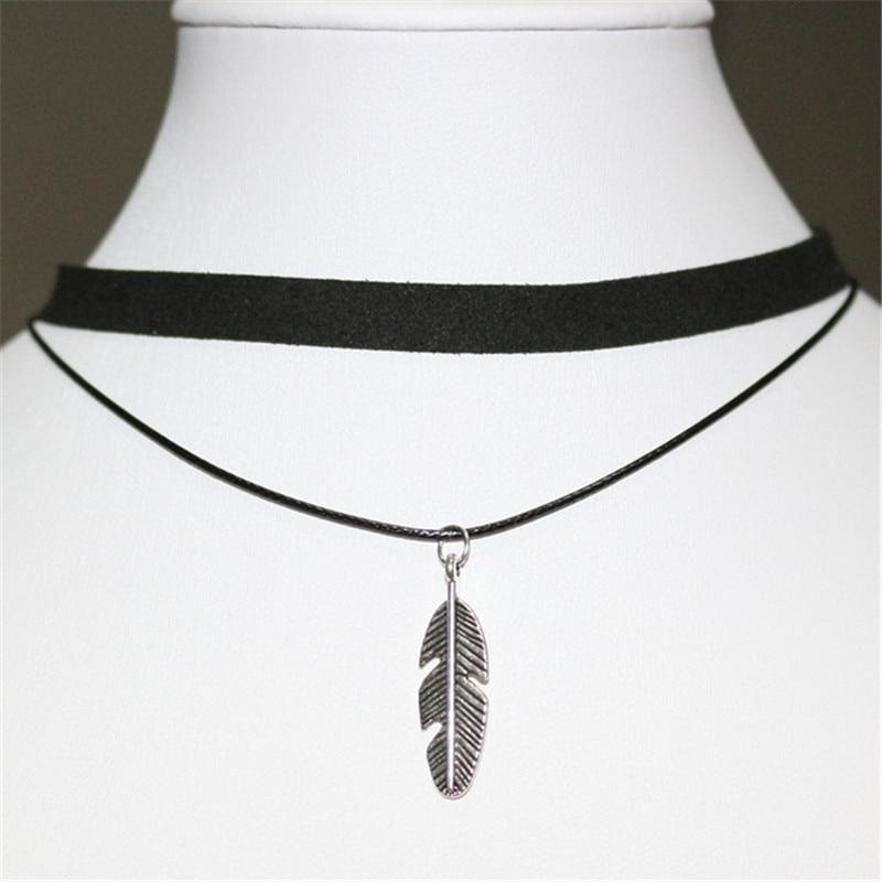 Gótico lolita punk triângulo gargantilha colar preto veludo steampunk tatuagem colares torques jóias clavícula colar bijoux quente