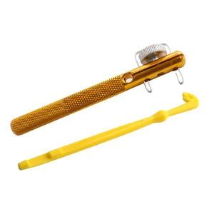 Рыболовные снасти из алюминиевого сплава, инструмент для завязывания лески с завязывающимися узлами и петлями для удаления рыболовных крючков