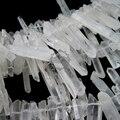 16 pulgadas cadena, acerca de 80 unids, 20 - 30 mm pepita orgánica forma aleatoria raw natural cristal de roca cuarzo palillo granos flojos resultados 3000017