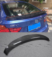 Car Styling for F34 GT Real Carbon Fiber Rear Trunk boot lip Spoiler For BMW F34 3 Series GT 2013 up accessories