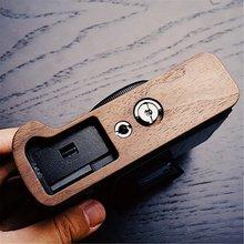 Деревянная Базовая пластина рукоятка пластина Кронштейн для FUJI XT3 FUJIFILM X T3 Штатив Поддержка