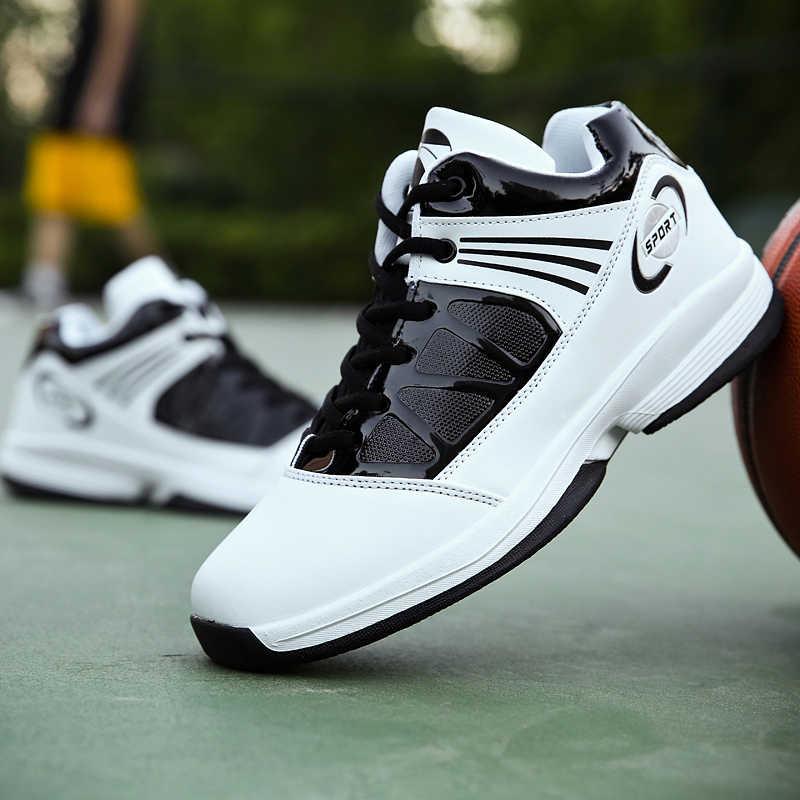 Мужская Баскетбольная обувь, спортивные Ультра ботильоны, зимние дышащие кроссовки спортивные, универсальные, Max Jame LBJ кроссовки