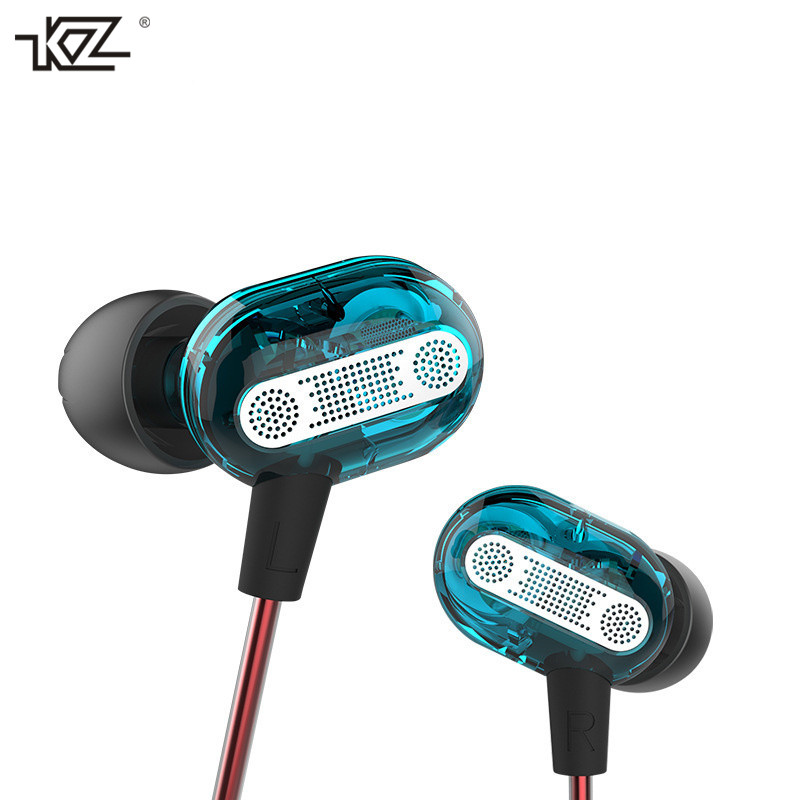 Original KZ ZSE Dual Driver In Ear Earphone Bass Subwoofer Earphone HIFI DJ Monito Running Sport Earphone Headset Earbuds free shipping super big size 12 super mario with star action figure display collection model toy