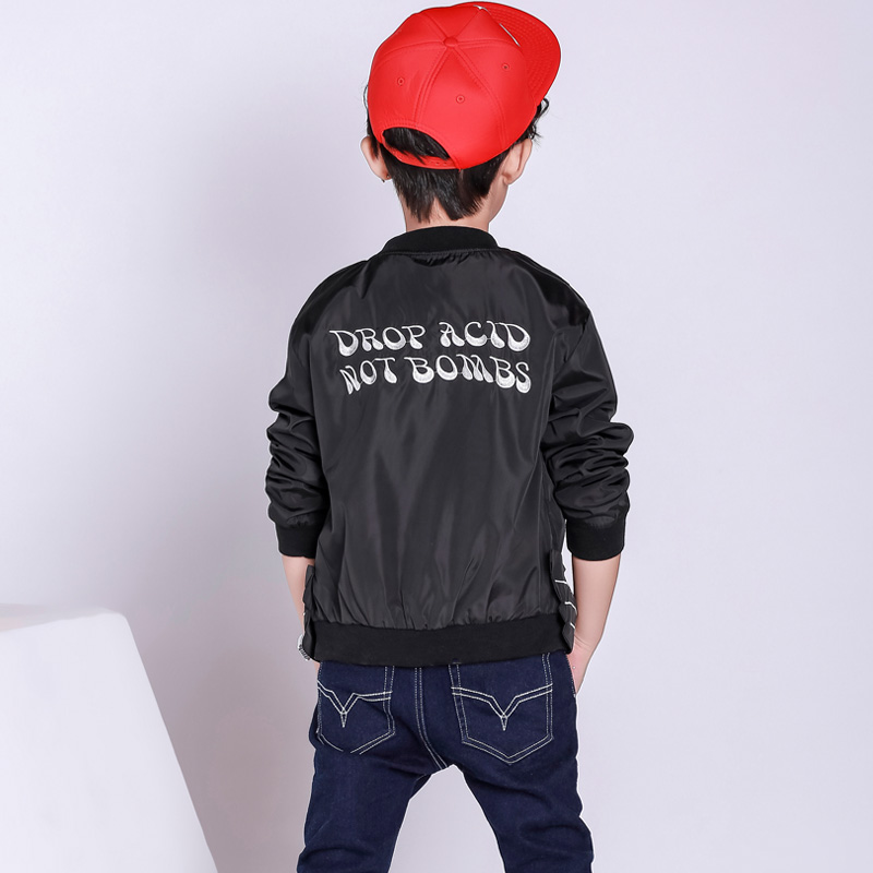 caf1201592c6 Boys autumn spring outerwear 2017 new children s clothing good ...
