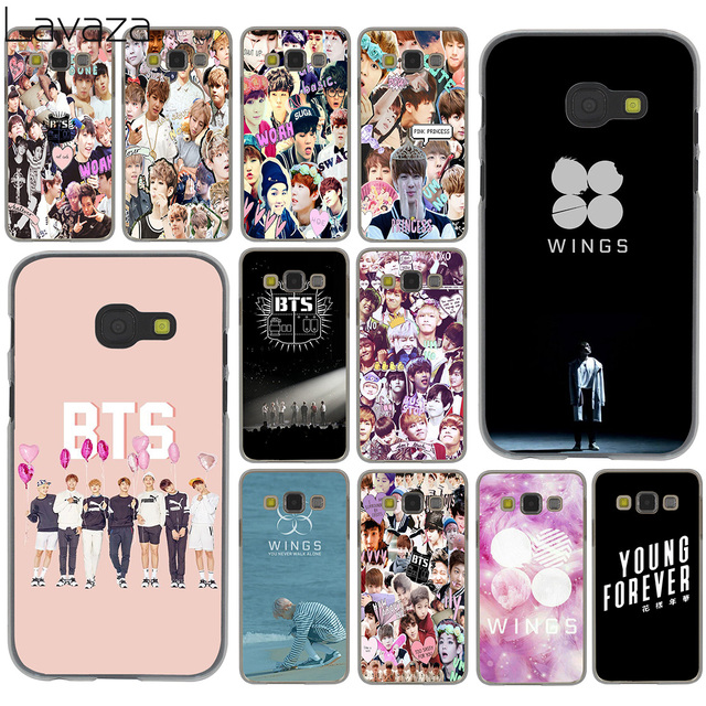 quality design f2095 99783 US $2.55 |Lavaza Bangtan Boys Collage wings BTS Case for Samsung Galaxy A6  A8 Plus A7 A9 2018 A3 A5 2017 2016 2015 Note 9 8 Cover-in Half-wrapped Case  ...