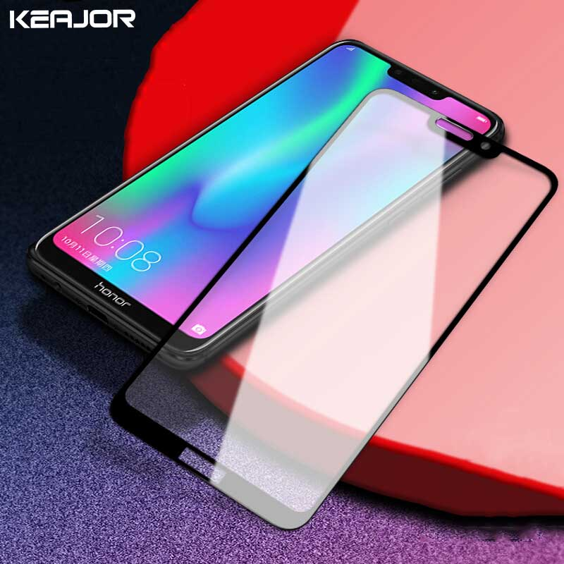 Tempered Glass For Huawei Honor 8C Screen Flim 9H Anti-Scratch Fully Cover Protector Film For Huawei Honor 8C Glass Film