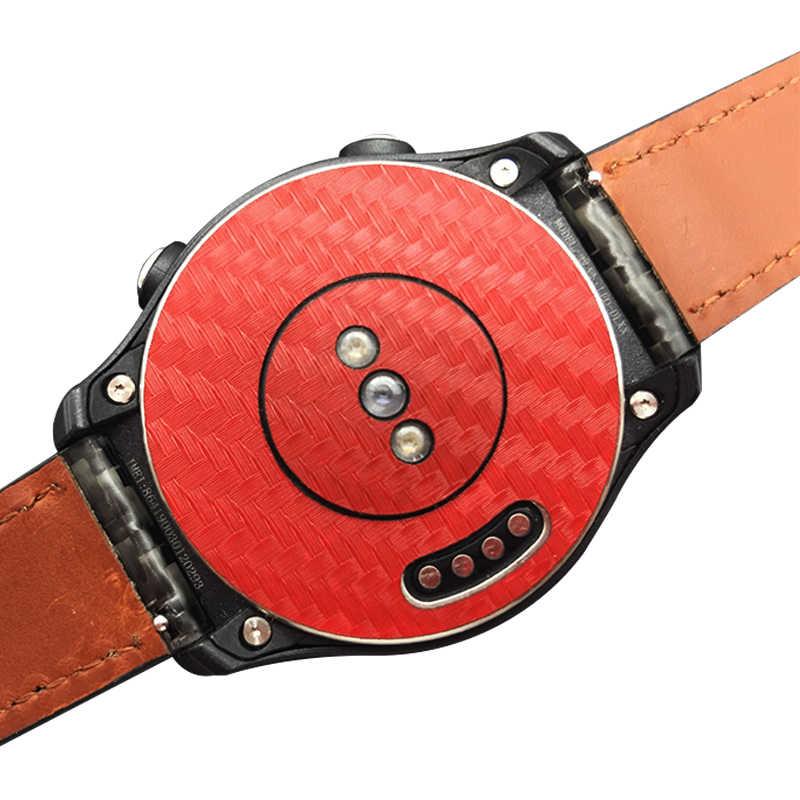 2 шт. Защитная пленка для задней панели из углеродного волокна Для Huaweri Watch 2 или Watch 2 Pro задняя наклейка крышка хорошая для вашего ремешка для часов