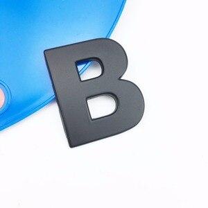 Image 5 - Letras de personalidade 3d em metal, emblema em metal adesivo de cromo insígnia para automóveis, acessórios para motocicletas