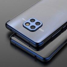 Huawei Mate 20 Mate 20 Pro telefon kılıfı Kaplama TPU Yumuşak arka kapak için Huawei Mate 20 Pro RS Çapa şeffaf Ince Funda