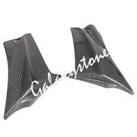 Carbon Fiber Tank Side Covers Panel Fairing for Suzuki GSXR600 GSXR750 2011 2012 2013 K11 11 12 13 Motorcycle Side Lining Part