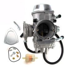 new carburetor carb for yamaha grizzly atv 600 yfm600 660cc 1998-2001 1999  2000+fuel filter+throttle base cover+rubber ring