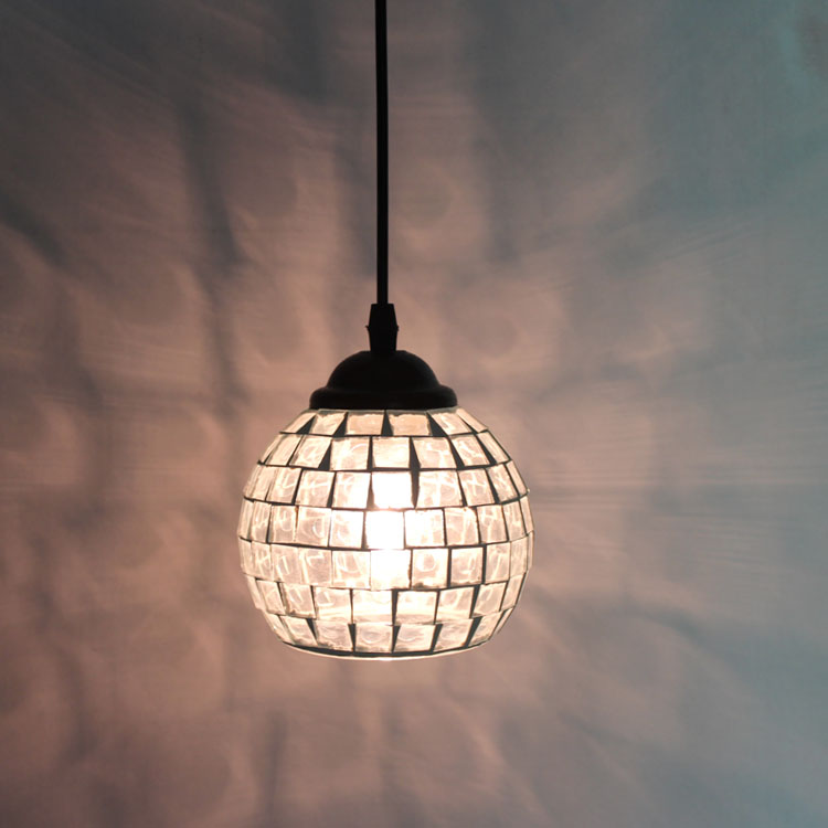 Tiffany continental retro cafe bar entrance lamps club Pendant Lights Western-style restaurant art mosaic glass lamps DF100 tiffany restaurant pendant lamp in front of the hotel cafe bar small aisle entrance hall pendant light creative pendant lamps za
