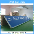 Free Shipping 12x2m Inflatable Tumble Track,Inflatable Air Mat,Tumble Track Inflatable Air Mat For Gymnastics