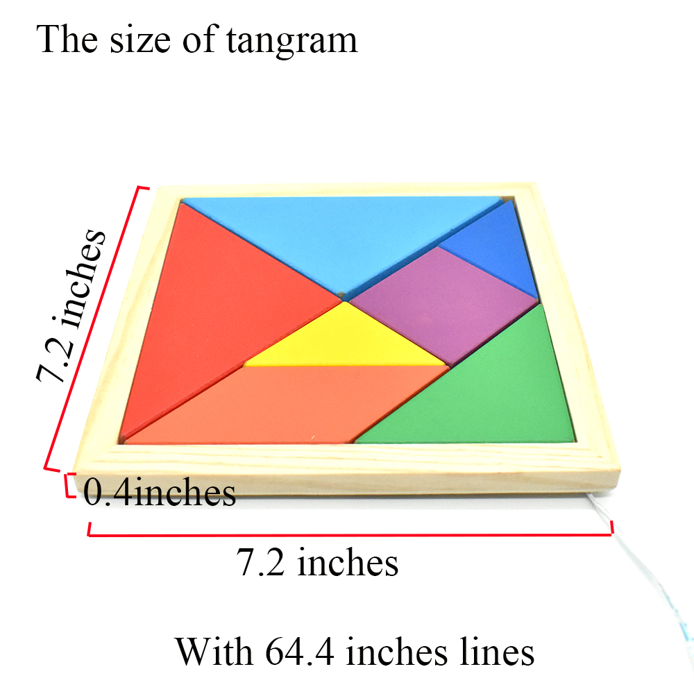 Image 2 - Escape Room Prop Tangram Props to Controll 12V Magnet Lock Escape Room Game Puzzle-in Alarm System Kits from Security & Protection