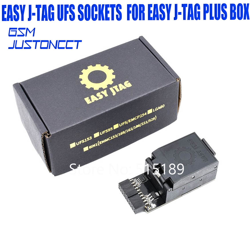 Easy Jtag Plus box UFS BGA153 Sockets for easy j tag plus box
