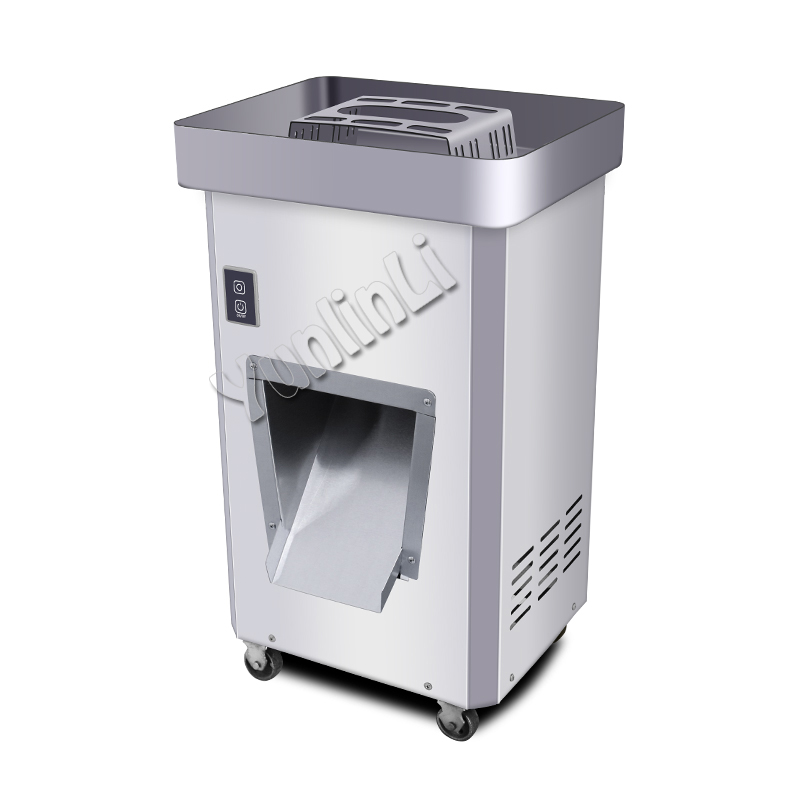 Commercial Meat Slicing Machine Vertical-type Meat Slicer Electric Meat Cutting Machine 2200W Large Power Meat Mincer GS-DQ цена