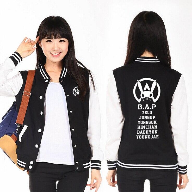 Kpop Baseball Jacket