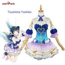 Tsushima Yoshiko Косплей Love Live Sunshine Aqours Angel Awake Idolized костюм женский Аниме Любовь Живая Косплей Tsushima Yoshiko