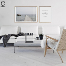 Nordic Posters And Prints Seascape Wall Art Quotes Painting Scandinavia Picture For Living Room Decoration
