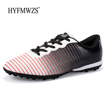 HYFMWZS Unisex Turf Soccer Shoes Men Football Shoes Superfly Boys Socc