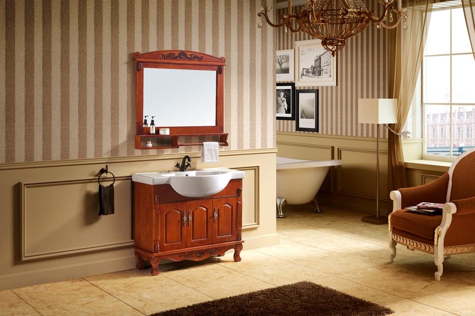 Floor Mounted Bathroom Vanity Combo
