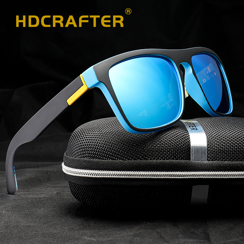 45ee0c15260 HDCRAFTER Polarized Sunglasses Men s Driving Shades Male Sun Glasses For Men  Safety 2018 Luxury Brand Designer Oculos D731