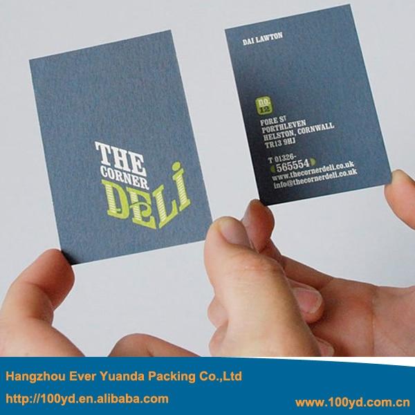 Livraison Gratuite Color Impression Nom Carte 300gsm Papier Dart Double Cts Holographique De Visite Daffaires Cartes Haute Qualit