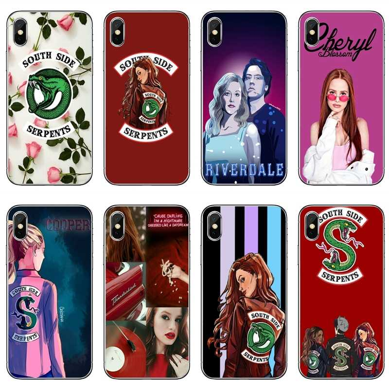 tv riverdale cheryl blossom For Samsung Galaxy S10 S9 S8 S7 S6 edge Plus Lite S5 S4 mini Note 9 8 5 4 TPU Soft phone cover case
