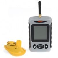 Бесплатная доставка! Lucky FFW718 беспроводной портативный рыбоискатель 40м / 120FT сонар эхолот сигнализации океан реки озера