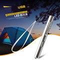 Супер Яркий Портативный USB аккумуляторная СВЕТОДИОДНЫЙ фонарик Водонепроницаемый Мини факел Из Нержавеющей свет с Ремешок Круглая Луна USB Фонарик