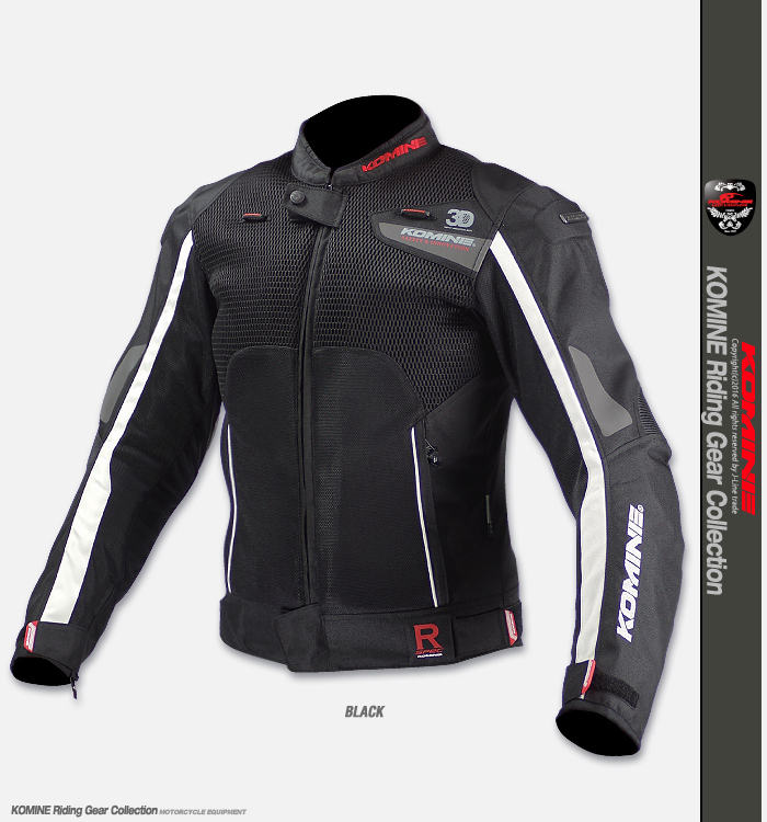 KOMINE JK-092 R Spec Sports Mesh Jacket Lombardo 3