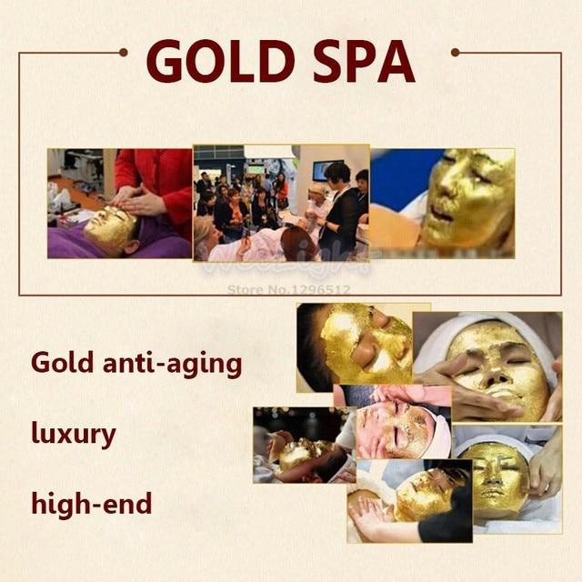 100% Original 24K golden mask Anti wrinkle facial mask for face care tighten skin, whitening face masks for face lifting firming 5