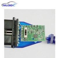Estilo do carro de Diagnóstico Obd2 Cabo FT232RL Chip para USB VAG 409 VAG Interface USB VAG KKL Fiat Ecu Ferramenta de Verificação Do Carro Interruptor de 4 Vias