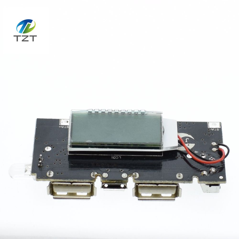 Buy 1pcs Mini Mp3 Player Module Tf Card U Disk 4v Pcb Circuit Board Battery Protection Croons 74v 18650 Dual Usb 5v 1a 21a Mobile Power Bank Charger Accessories