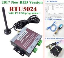 จัดส่งฟรี 2017 ใหม่ RTU5024 ประตู GSM เปิดสวิทช์รีเลย์ระยะไกลไร้สายเลื่อนประตูโดยโทรฟรี