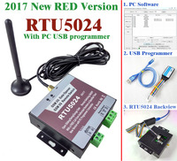Free Shipping 2017 New RTU5024 GSM Gate Opener Relay Switch Remote Access Control Wireless Sliding Gate